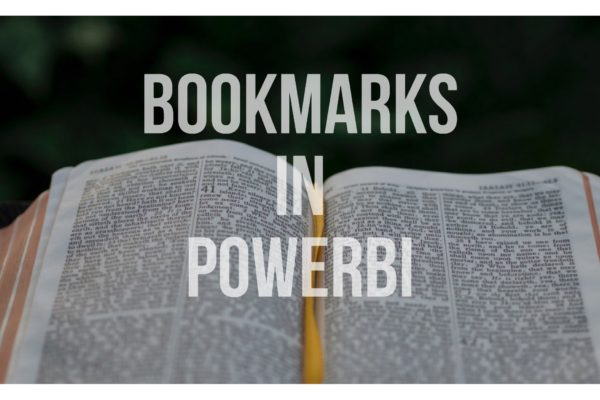Bookmarks in PowerB