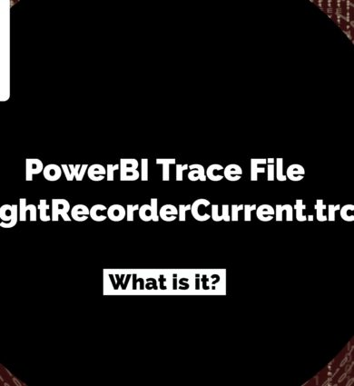 PowerBI Trace File FlightRecorderCurrent.trc