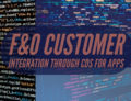 F&O Customer Integration Through CDS (Common Data Service) for Apps